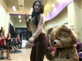 Dancing bear blond milf xxxvideo