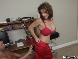 Since we are all alone... with busty Mrs. Deauxma hardcore milf xxxvideo