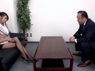 Secretary Seduces Her Boss milf hairy xxxvideo