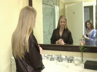 Girls Lock Themselves In Hotel Room straight hd xxxvideo