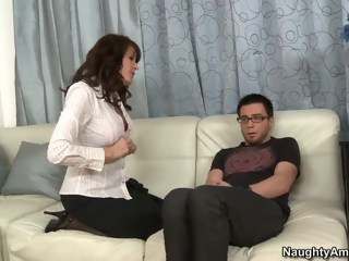 So Dane goes to Billy's mom to fuck her hardcore milf xxxvideo
