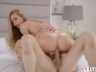 VIXEN Nicole Aniston Has Hot Dominating Sex On Vacation blowjob blond xxxvideo