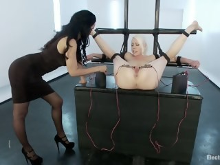 Electric Anal Speculum! Lorelei Lee Submits to Isis Love!!  bdsm xxxvideo