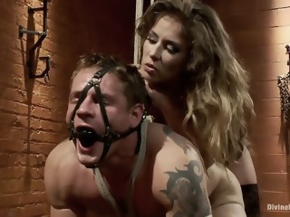 Mistress Felony dominating femdom blonde xxxvideo
