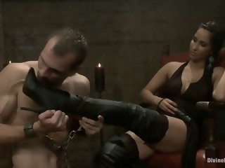 Female domination hardcore femdom xxxvideo