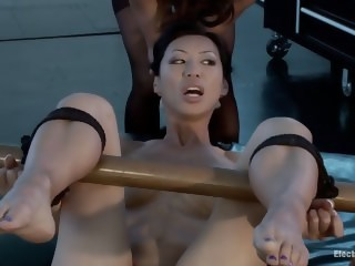 Little Electro Anal Slut!  bdsm xxxvideo