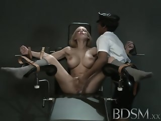 BDSM XXX Slave girl gets orgasm from angry Mistress hardcore fetish xxxvideo