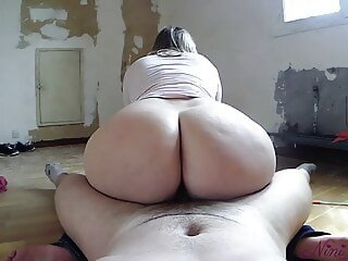 Step Sister sucks me and lets me fuck her big ass at work! lets sucks xxxvideo