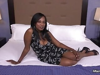 41 year old Black MILF black year xxxvideo