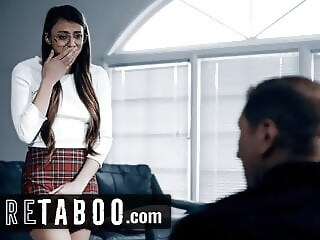 PURE TABOO Priest Convinces Teen 2 Give Her Anal Virginity convinces priest xxxvideo