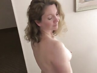 Horny Housewife at a Hotel hotel housewife xxxvideo