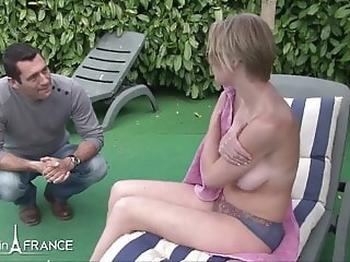 Diane-New room mate-French big boobs mate-french room xxxvideo