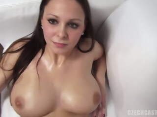 Andrea got naked during a porn video casting and did everything she could to get hired porn naked xxxvideo