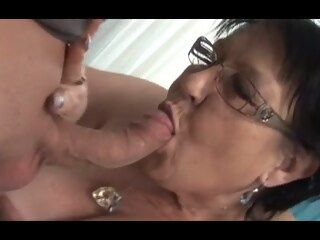 Young Man Seduces Grandma  grandma xxxvideo