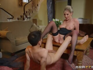 Georgie Lyall & Jordi El NiГ±o Polla in Pounding The Problem Son - BRAZZERS jordi lyall xxxvideo