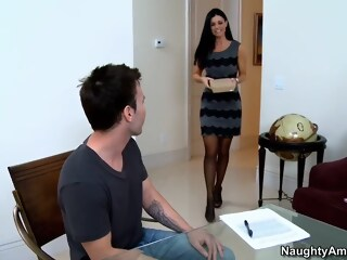 Helping her student with his graduation graduation student xxxvideo
