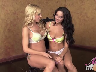 Ava Adams and Amy Brooke decided to make love with each other, all night long amy adams xxxvideo