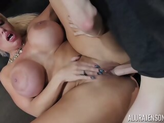 Alura Jenson gave a blowjob to her lover, and then he fucked her brains out blowjob jenson xxxvideo