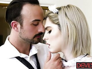 Cheating husband fucks trans housekeeper Ella Hollywood tranny pros (shemale) hd videos xxxvideo