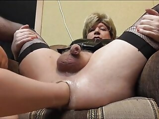 mature sissy cums hard while fisting and straponing anal (shemale) hd videos xxxvideo
