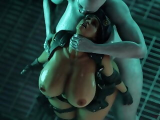 Resident Evil 3, Jill gets inseminated by tyrant by Rigid3D hd videos hentai xxxvideo
