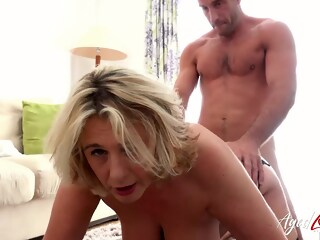 AgedLovE Round Mature Boobs Banging Really Hard mature hardcore xxxvideo