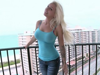 Blondie Boom with her Amazing tits and Ass hardcore blond xxxvideo