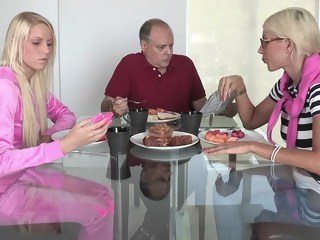 Caught by dirty minded step Mommy hardcore blond xxxvideo