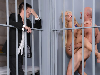 Jailhouse Cock facial blowjob xxxvideo