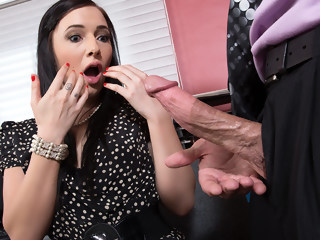 Ashli Orion & Bill Bailey in Naughty Office brunette blowjob xxxvideo