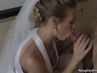 Alan Stafford nails cheating bride Nicole Aniston blowjob big tits xxxvideo