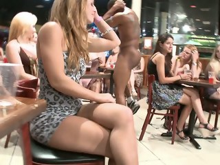 Women at the lounge getting facials interracial blowjob xxxvideo