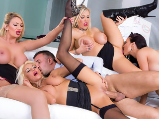 group sex big tits blond milf