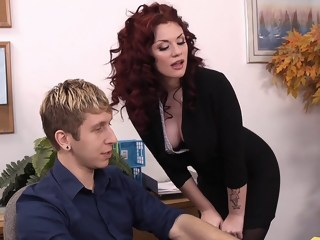 To be promoted in the office stockings hardcore xxxvideo