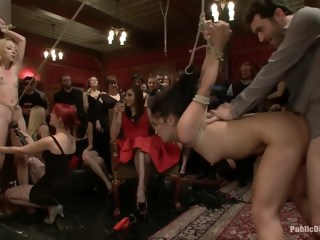 Donna's BDSM birthday hardcore bdsm xxxvideo