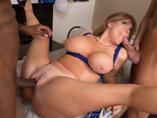 Darla Crane & Bill Bailey & Jon Jon in My Friends Hot Mom milf facial xxxvideo