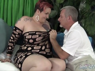 Mature plumper Selena White takes cock hd bbw xxxvideo
