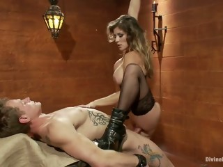 Divine Bitch Mistress Felony femdom blond xxxvideo