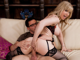 Nina Hartley & Dane Cross in My Friends Hot Mom blond facial xxxvideo