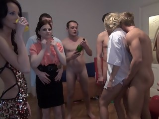 Charlotte Reed & Angel Piaff & Corrine & Eveline & Ilsa in innocent-looking xxx college girls get fucked hard blond group sex xxxvideo