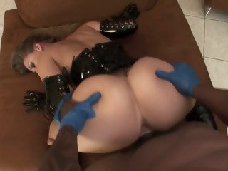 Devon Lee gets smashed with a big black dick and goes doggy style   xxxvideo