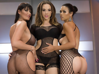 Best fisting, anal porn video with crazy pornstars Eva Karera, Dana Vespoli and Chanel Preston from Everythingbutt anal fisting xxxvideo
