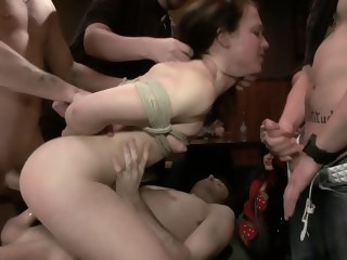 group sex dp brunette bdsm