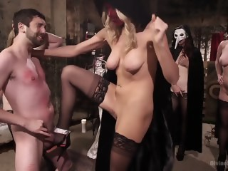 The Secret Femdom Society: Territorial Pissings  straight xxxvideo