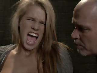 Young blonde Aiden Aspen gets humiliated blonde bdsm xxxvideo