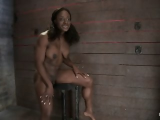 Kelli Provocateur - Ebony Body Builder - Mercilessly Dominated   xxxvideo