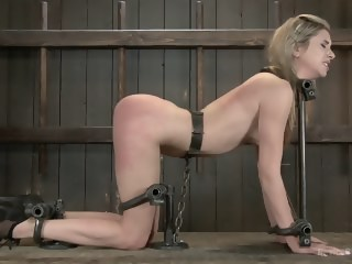 Fresh MeatYoung blonde slut tormented by Orlando  straight xxxvideo