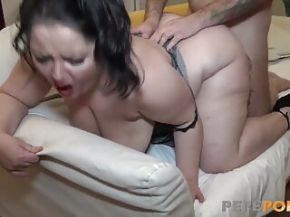 This BBW mature is a deepthroat expert!!! deepthroat mature xxxvideo