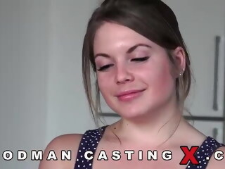 Young Russian casting  casting xxxvideo