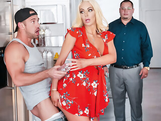 Nicolette Shea & Johnny Castle in Kitchen Cockfidential - SneakySex johnny shea xxxvideo